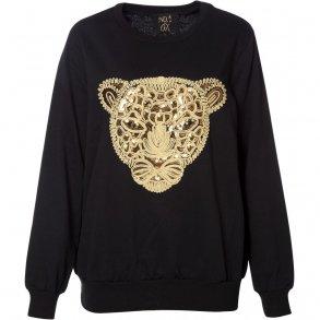 b2a4ccf22578 Tilbud PLUS Size. Sweater w. lion
